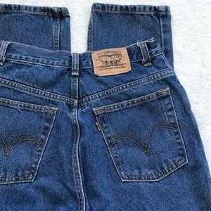 Levi's | 1970's Vintage Orange Tab High Waist Jean
